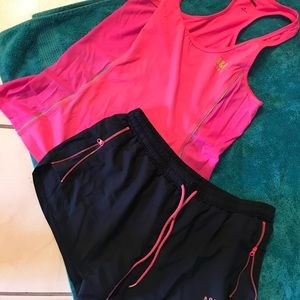 Abercrombie and Fitch workout outfit! Size large